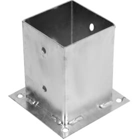 Опора прикручиваемая оцинкованная 101x101х150 мм