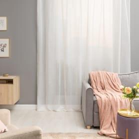 Тюль на ленте «Лолита», 300x280 см, цвет белый