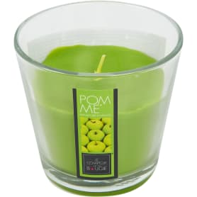 Свеча в стакане «Яблоко»