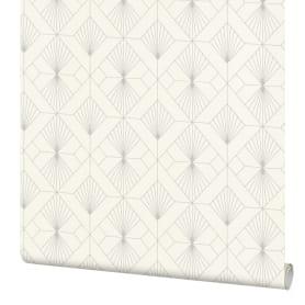 Обои флизелиновые Rasch Modern Art белые 0.53 м 620931