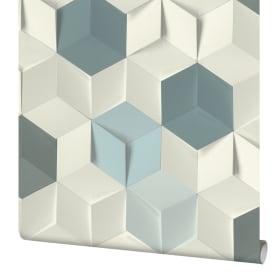 Обои флизелиновые Rasch Modern Art синие 0.53 м 622317