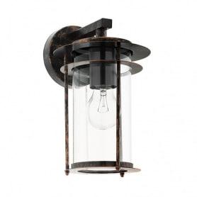 Светильник настенный уличный Eglo «Valdeo» 60 Вт IP44, цвет античная медь