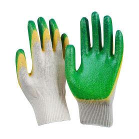 Перчатки х/б с двойным обливом утепленные