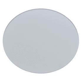Плитка декоративная зеркальная «Круг» цвет графит