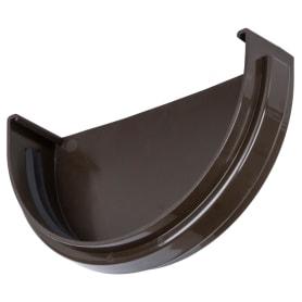 Заглушка Dacha 120 мм цвет коричневый