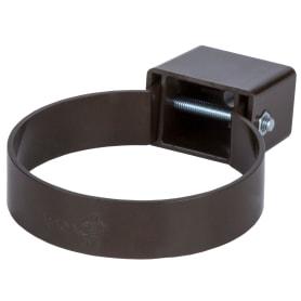Хомут универсальный Dacha 80 мм коричневый