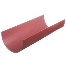 Желоб водосточный Dacha 120 мм 2 м красный