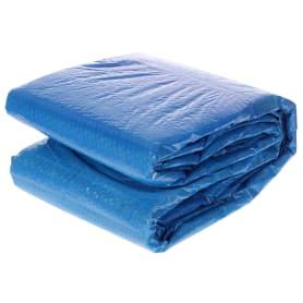 Подложка под бассейн 335x335 см, полиэтилен, цвет голубой