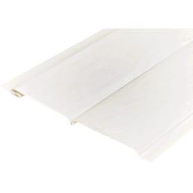 Панель ПВХ Белый ясень 2700х195x12 мм, 0.53 м²