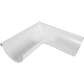 Угол желоба внешний 90° D125 мм цвет белый