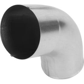 Колено сливное D90 мм оцинкованное