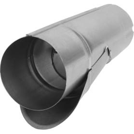 Отвод для сбора воды D90 мм оцинкованный