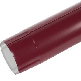 Труба круглая D90 мм 3000 мм цвет вишня
