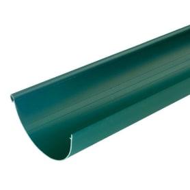 Желоб водосточный 3 м 130 мм цвет зеленый