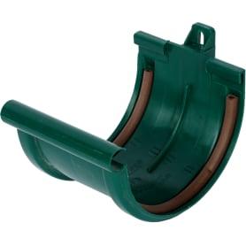 Соединитель для желоба Мurol цвет зеленый