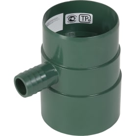 Verat отвод для сбора воды цвет зелёный