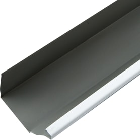 Желоб прямоугольный 3 м 120х86 мм цвет белый