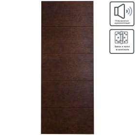 Дверь межкомнатная глухая шпон Антик 80x200 см