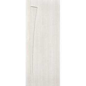 Дверь межкомнатная глухая ламинированное Белеза 90x200 см цвет белый дуб