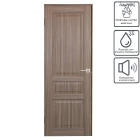 Дверь межкомнатная глухая Artens Мария 60x200 см цвет серый дуб