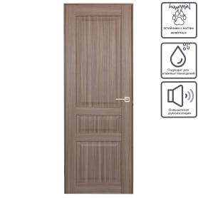 Дверь межкомнатная глухая Artens Мария 70x200 см цвет серый дуб