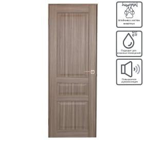 Дверь межкомнатная глухая Artens Мария 80x200 см цвет серый дуб