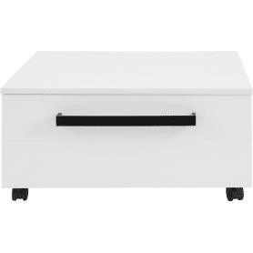 Тумба подкатная «Авангард» 60 см цвет белый