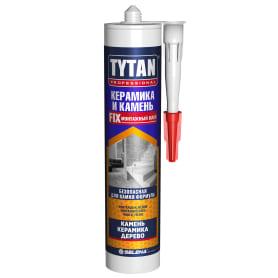 Клей tytan для камня и керамики цвет белый 310 мл