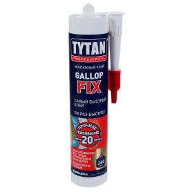 Монтажный клей Tytan Gallop Fix цвет белый 290 мл