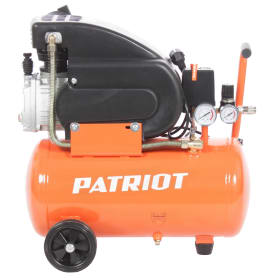 Компрессор масляный Patriot LRM 24-240C, 24 л 240 л/мин 1.6 кВт