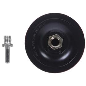 Тарелка опорная на липучке Flexione 100 мм с переходником