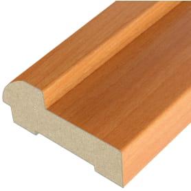 Дверная коробка Белеза 2070х70х26 мм ламинация цвет миланский орех (комплект 2.5 шт.)