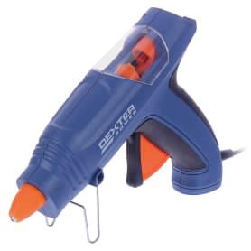 Пистолет клеевой Dexter Power, 200 Вт, для стержней 11 мм, комплект 12 стержней