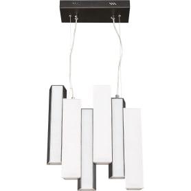 Люстра светодиодная «Piano» 4014/99АL 99 Вт, цвет чёрный/белый