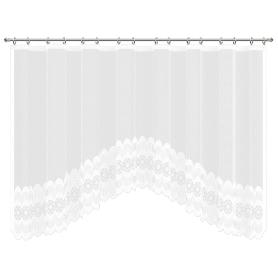 Занавеска для кухни на ленте «Нежность», 420х165 см, цвет белый