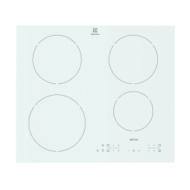 Варочная панель индукционная Electrolux EHH96340IW 4 конфорки, цвет белый