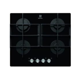 Варочная панель газовая Electrolux EGT96342YK 4 конфорки, 59х52 см, цвет чёрный