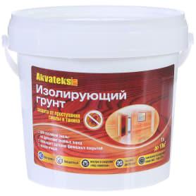 Изолирующий грунт Akvateks DIY бесцветный 1 л