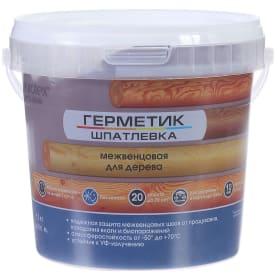 Герметик-шпатлевка для дерева шовный межвенцовый Eurotex Exclusive цвет венге 1.3 кг