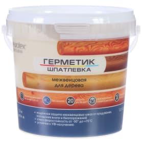 Герметик-шпатлевка для дерева шовный межвенцовый Eurotex Exclusive цвет сосна 1.3 кг