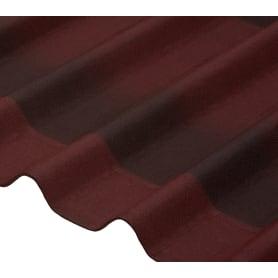 Черепица Ондулин Diy 3x820х1950 мм цвет красный