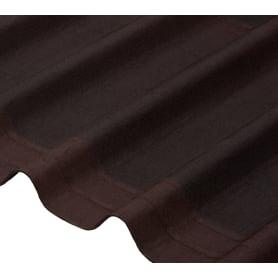 Черепица Ондулин Diy 3x820х1950 мм цвет коричневый