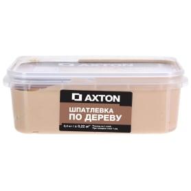 Шпатлёвка Axton для дерева 0,4 кг белое масло