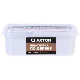 Шпатлёвка Axton для дерева 0,4 кг цвет белый