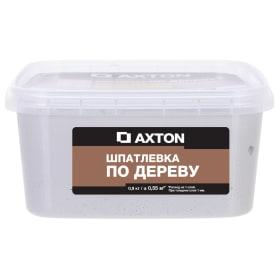 Шпатлёвка Axton для дерева 0,9 кг тач