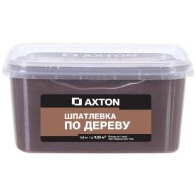 Шпатлёвка Axton для дерева 0,9 кг эспрессо