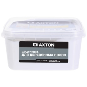 Шпатлёвка Axton для деревянных полов 0,9 кг цвет белый