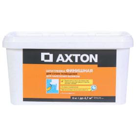 Шпатлевка финишная Axton для сухих помещений 8 кг