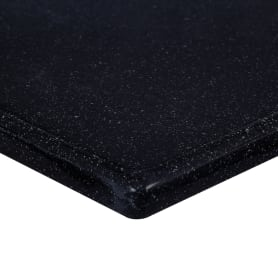 Столешница под раковину 1000х470 мм цвет чёрный