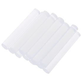 Клеевые стержни 8x50 мм  прозрачные 12  шт.